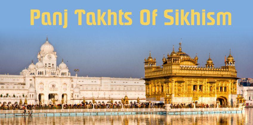 Panj Takhts Of Sikhism